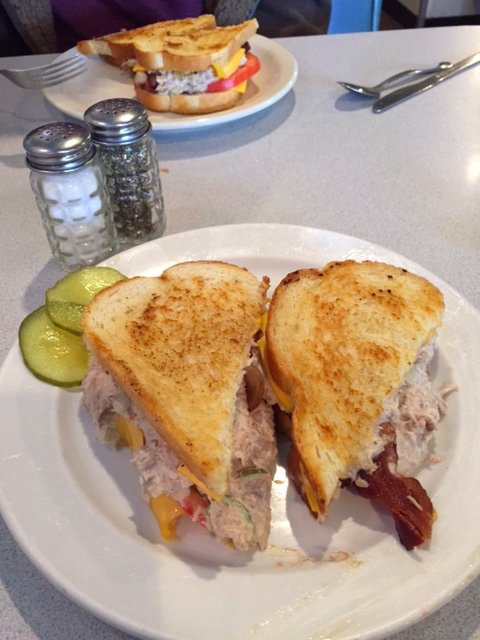 Special of the day - tuna melt