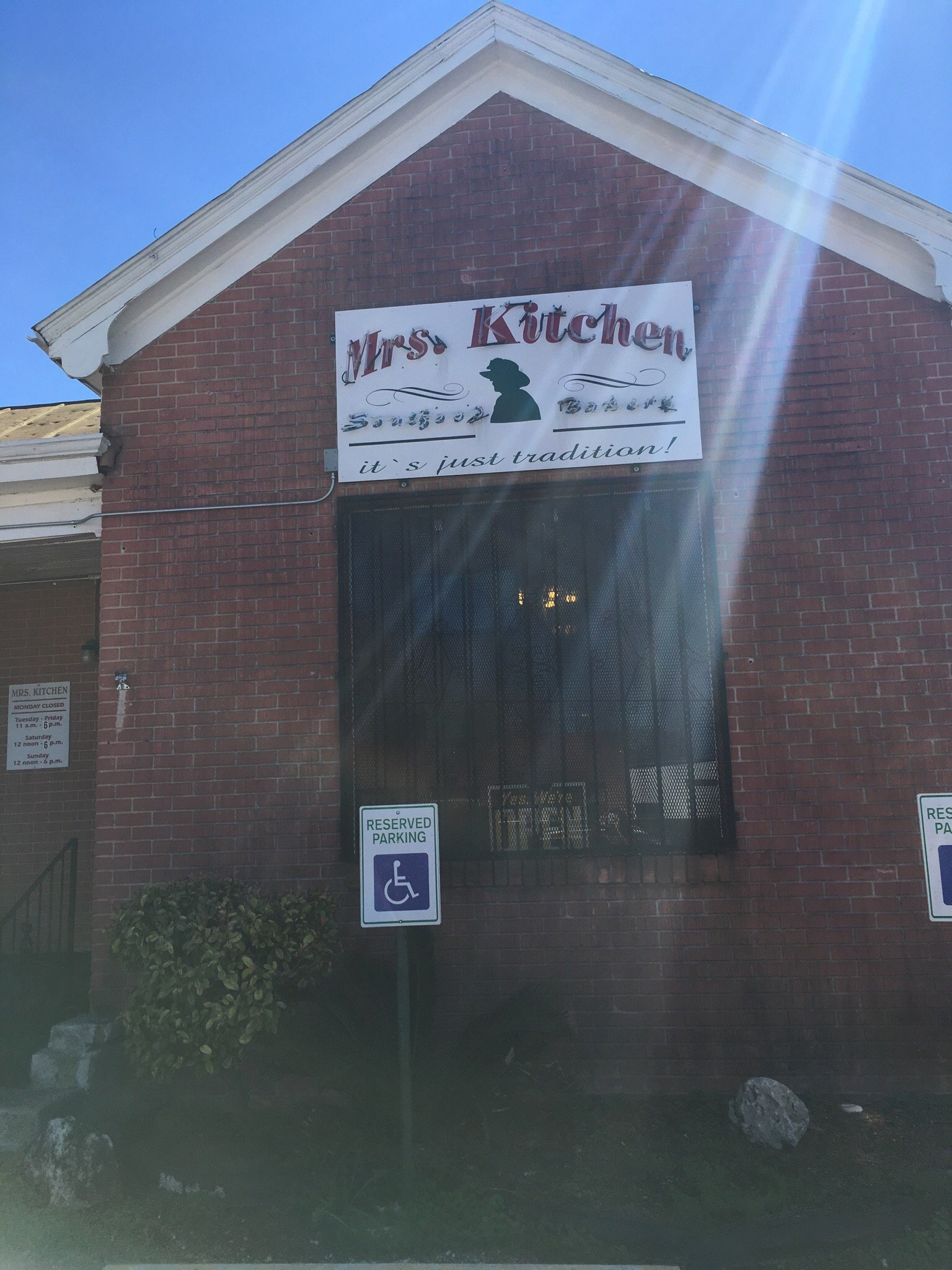 Mrs kitchen soul food restaurant bakery san antonio for Q kitchen san antonio tx
