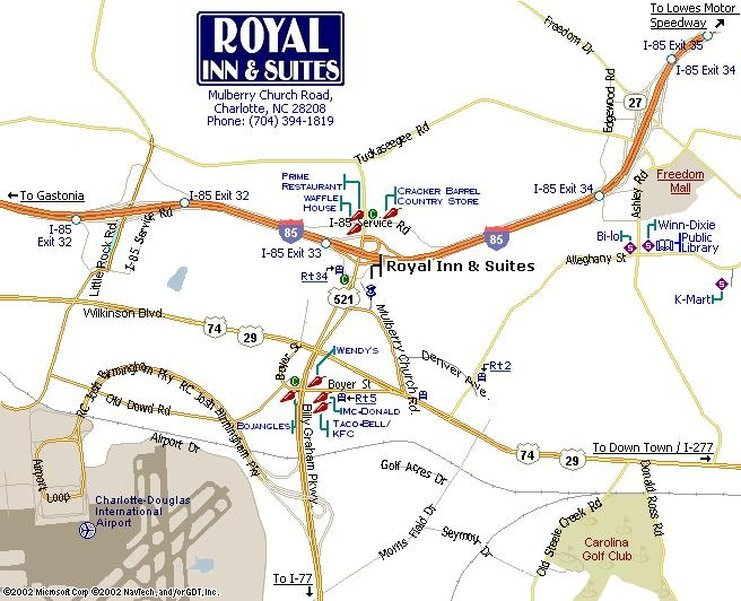Royal Inn Charlotte Airport Hotel