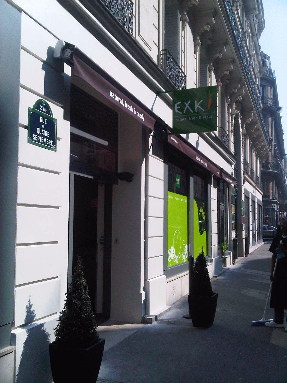 Exki 4 septembre paris op ra bourse restaurant avis for Bourse exterieur