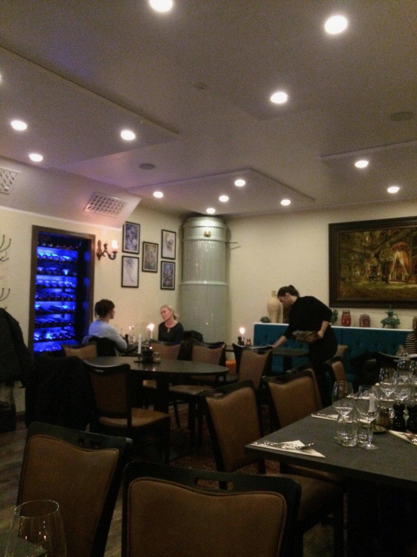 Interiör från restaurangen.
