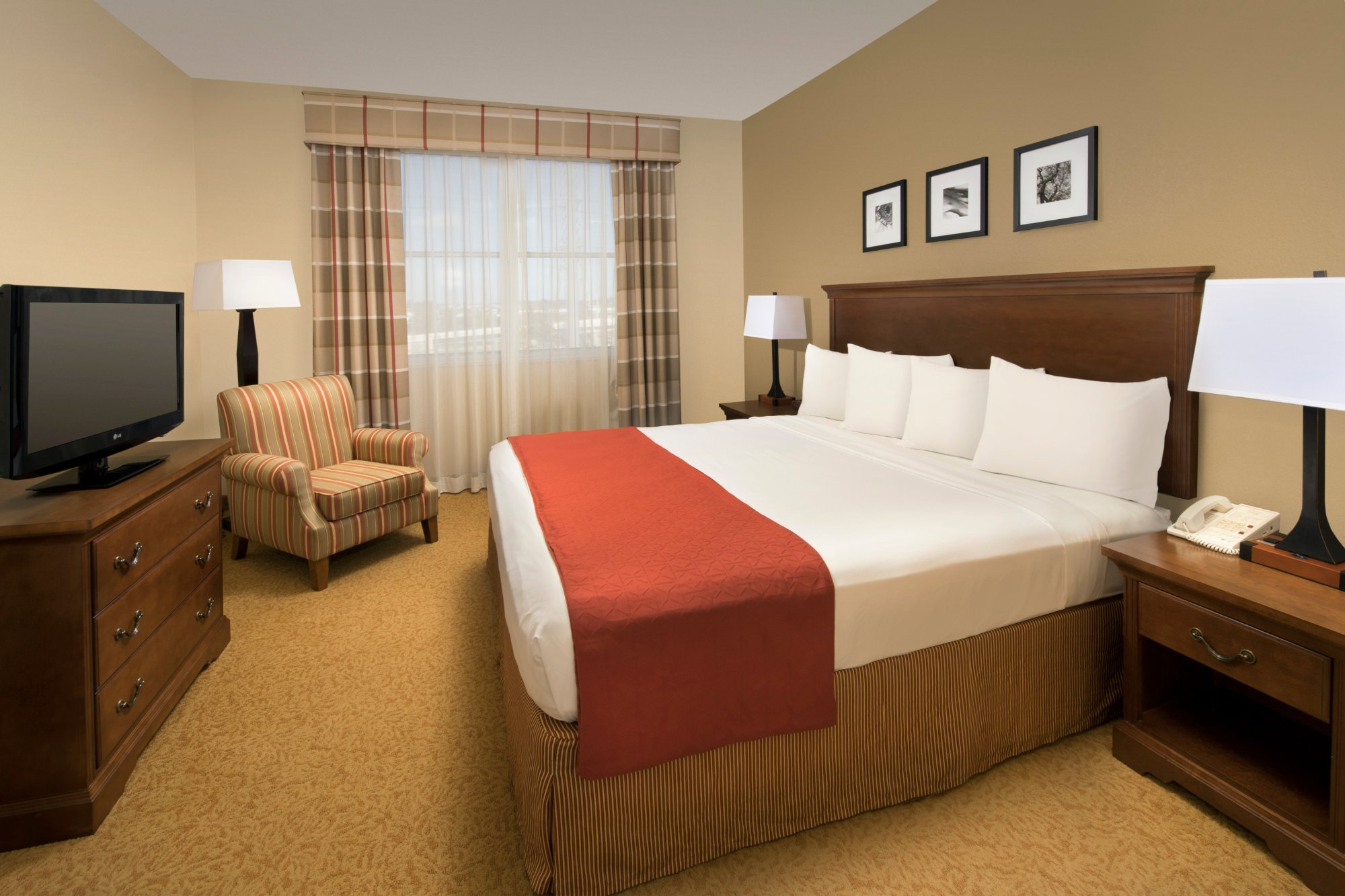 德克斯州休士頓州際機場東套房飯店