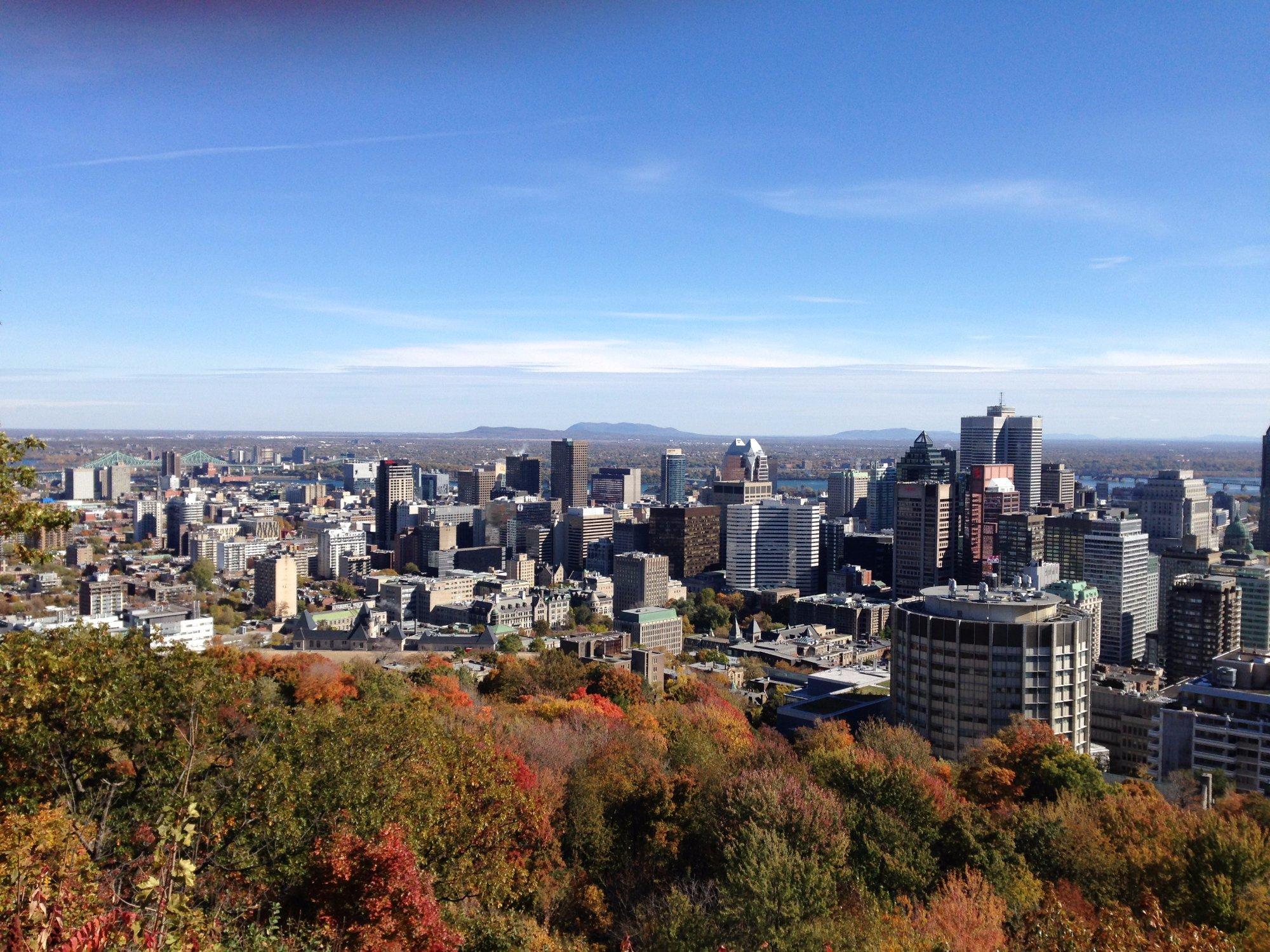 Kondiaronk Belvedere - Montreal - Quebec - Canada