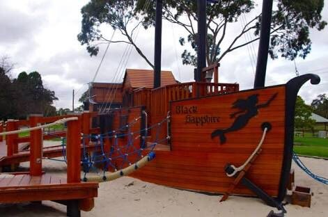 Black Sapphire Pirate Ship Playground