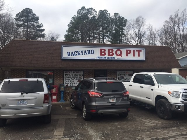 backyard bbq pit durham menu prices restaurant