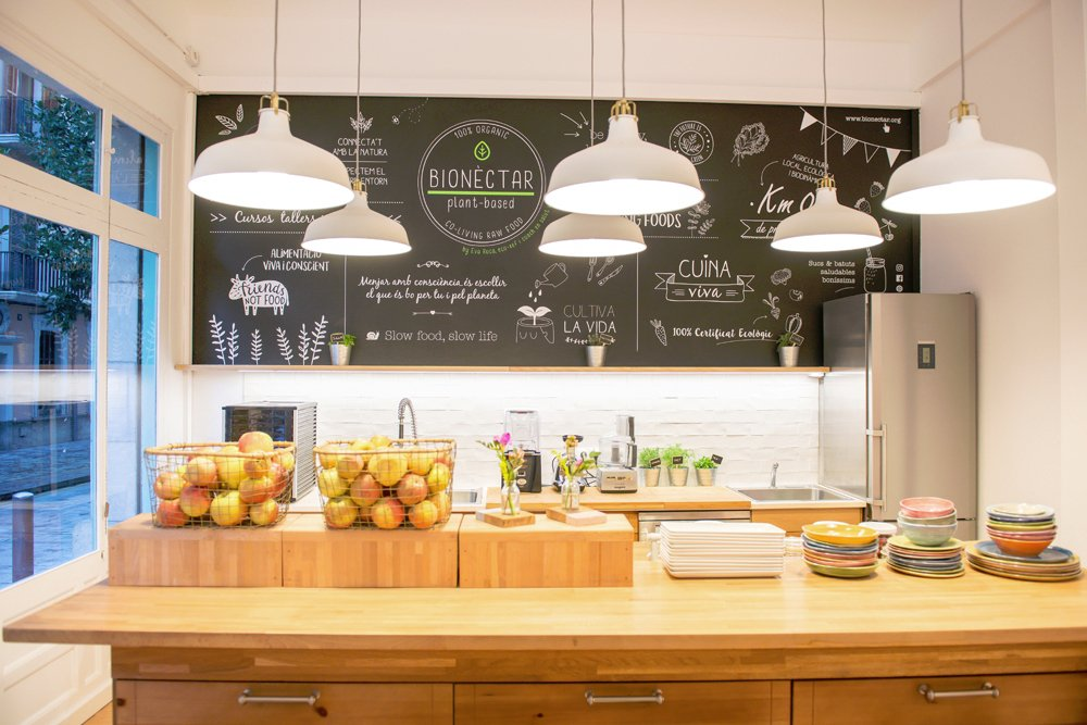 Bionectar eco living raw food g rone restaurant avis for Avis eco cuisine