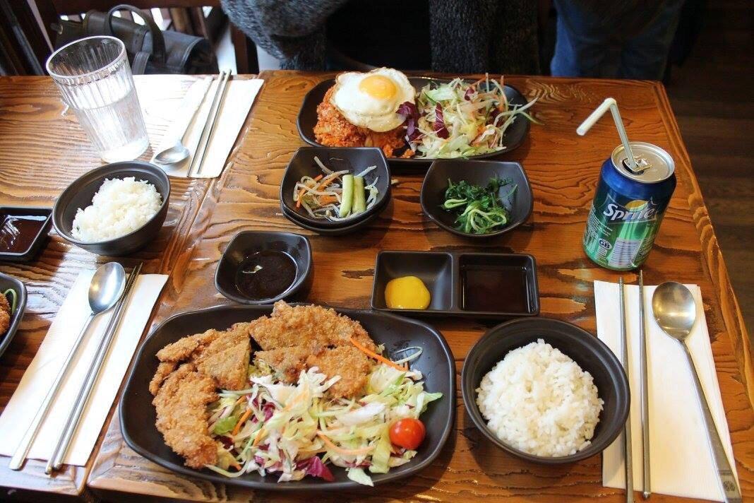 Restaurants little korea in city of london westminster for Asian cuisine london