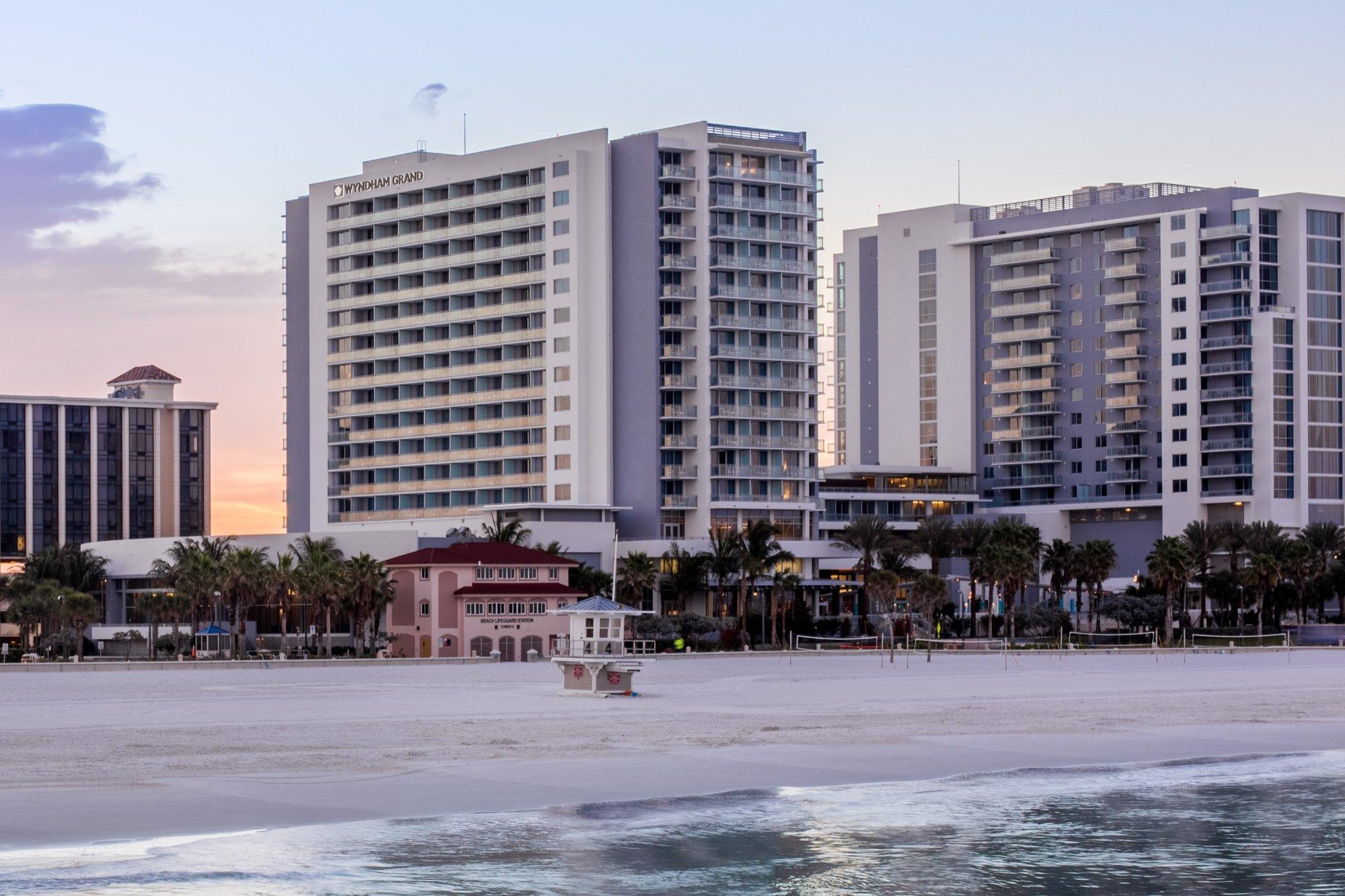 Wyndham Grand Clearwater Beach Resort Fl 2017 Review