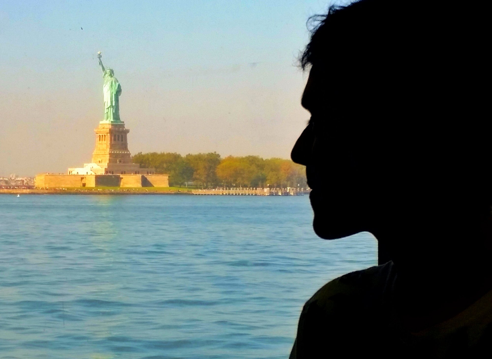 Miss Liberty from the ferry