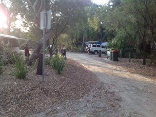Workman's Beach Camping Area