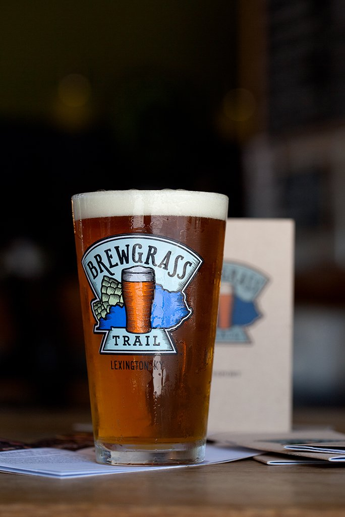Brewgrass Trail Beer Glass