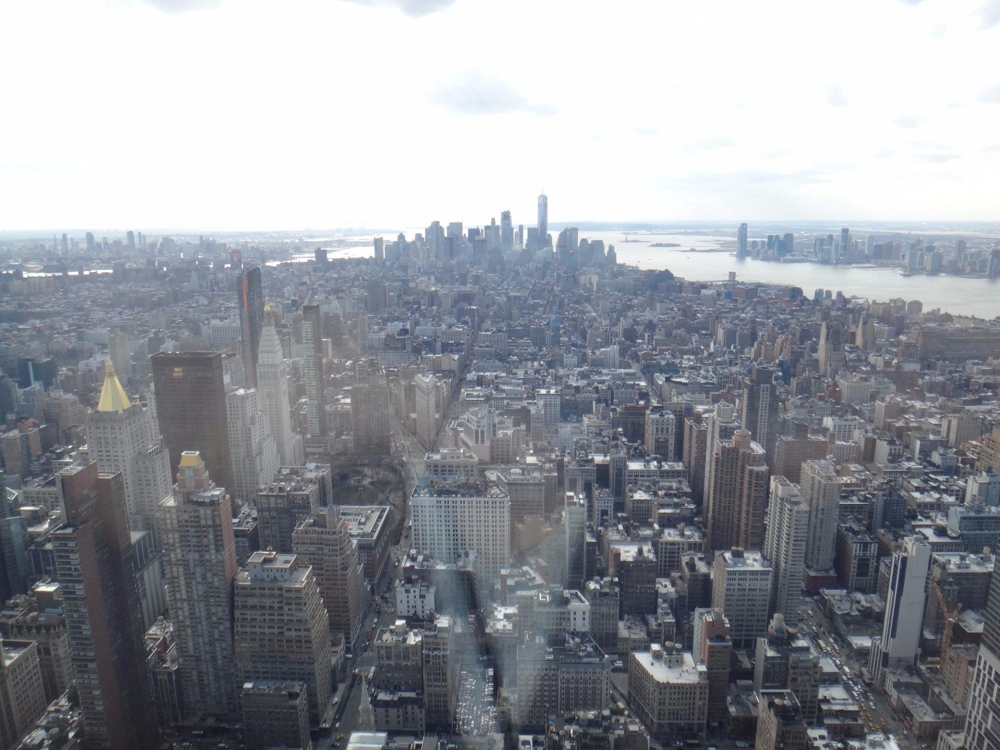 New York vista de cima.