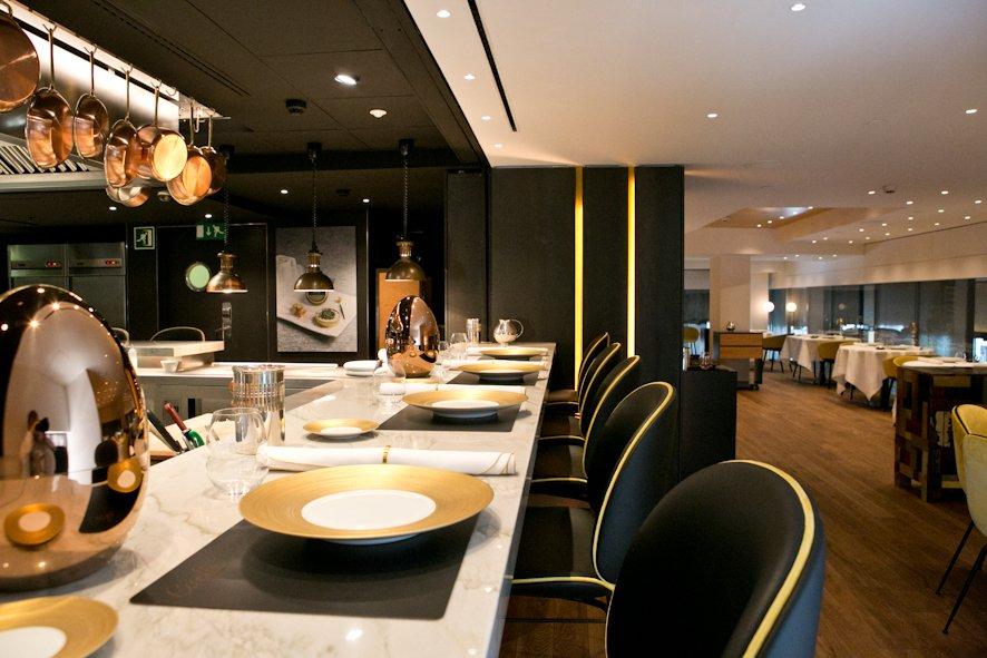 Caelis barcelone l 39 eixample restaurant avis num ro for Interior design 08003