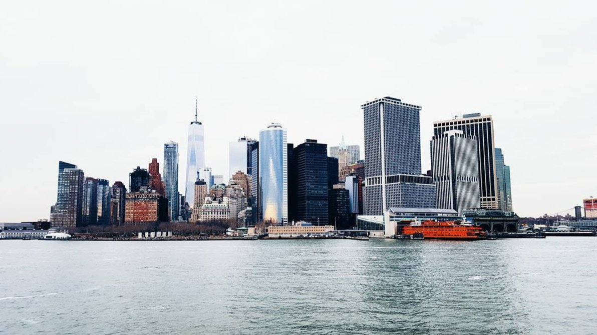 Taken from the Staten Island ferry