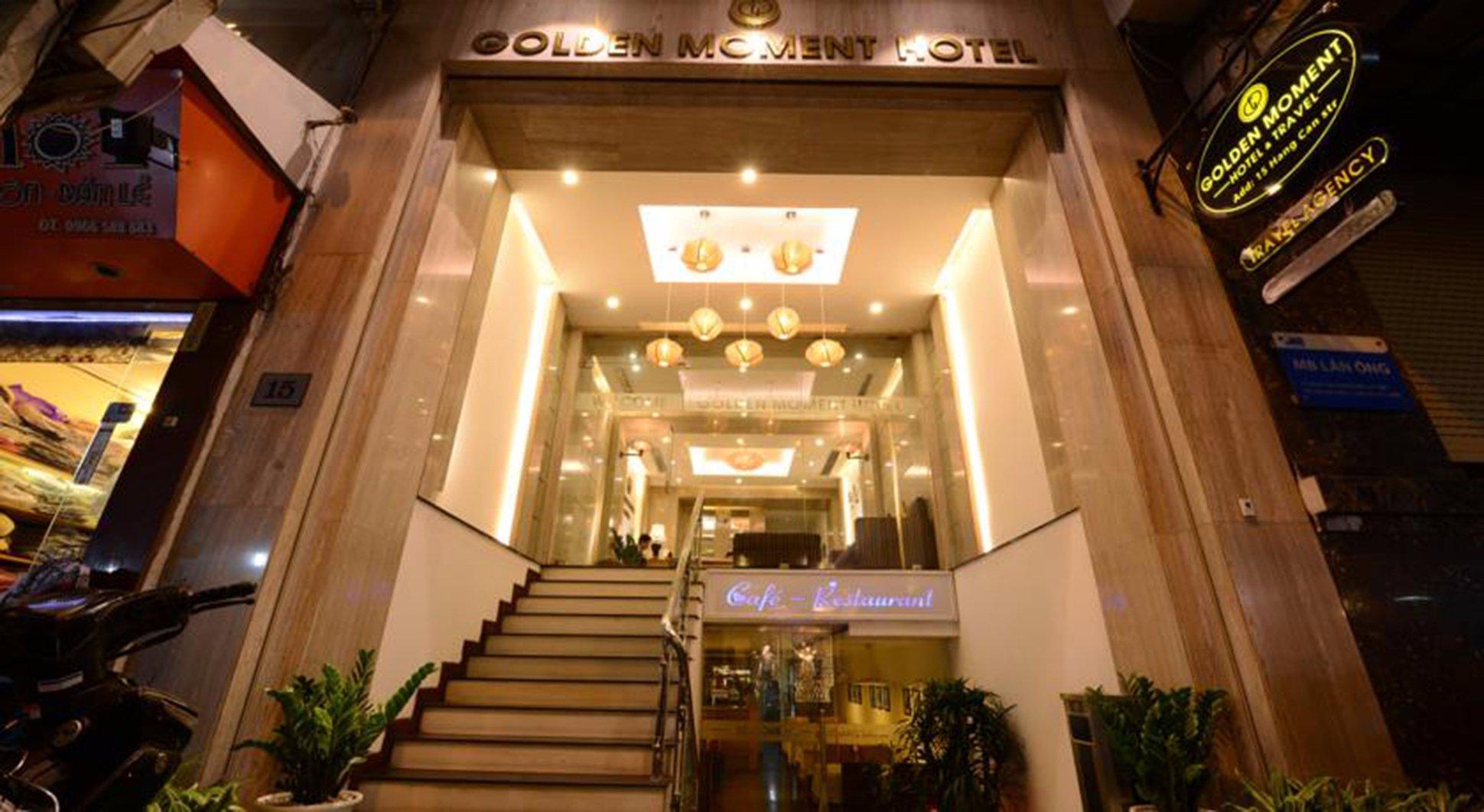 ゴールデンサンモメントホテル
