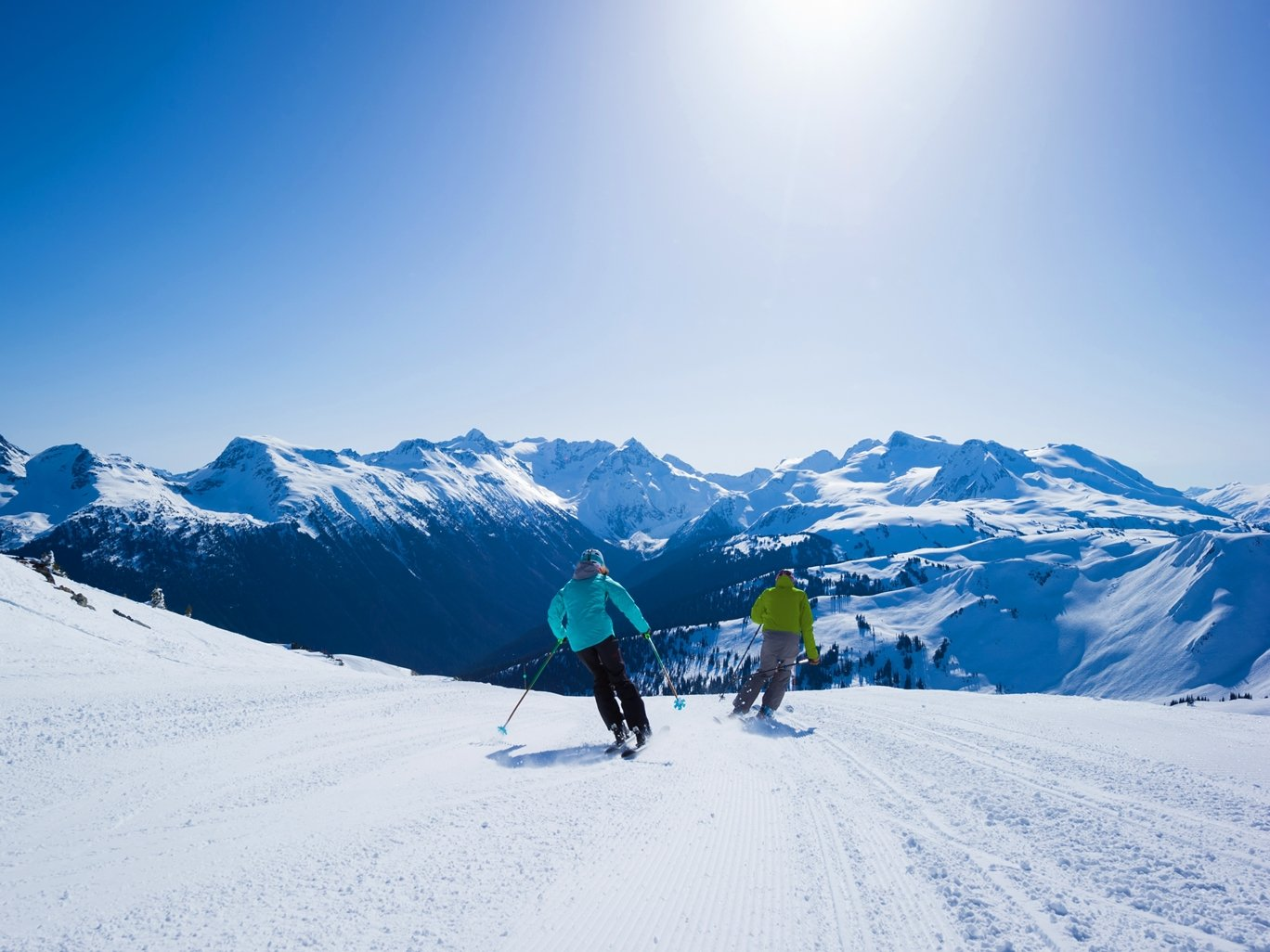 Spring Skiing in Whister Photo by Mike Crane