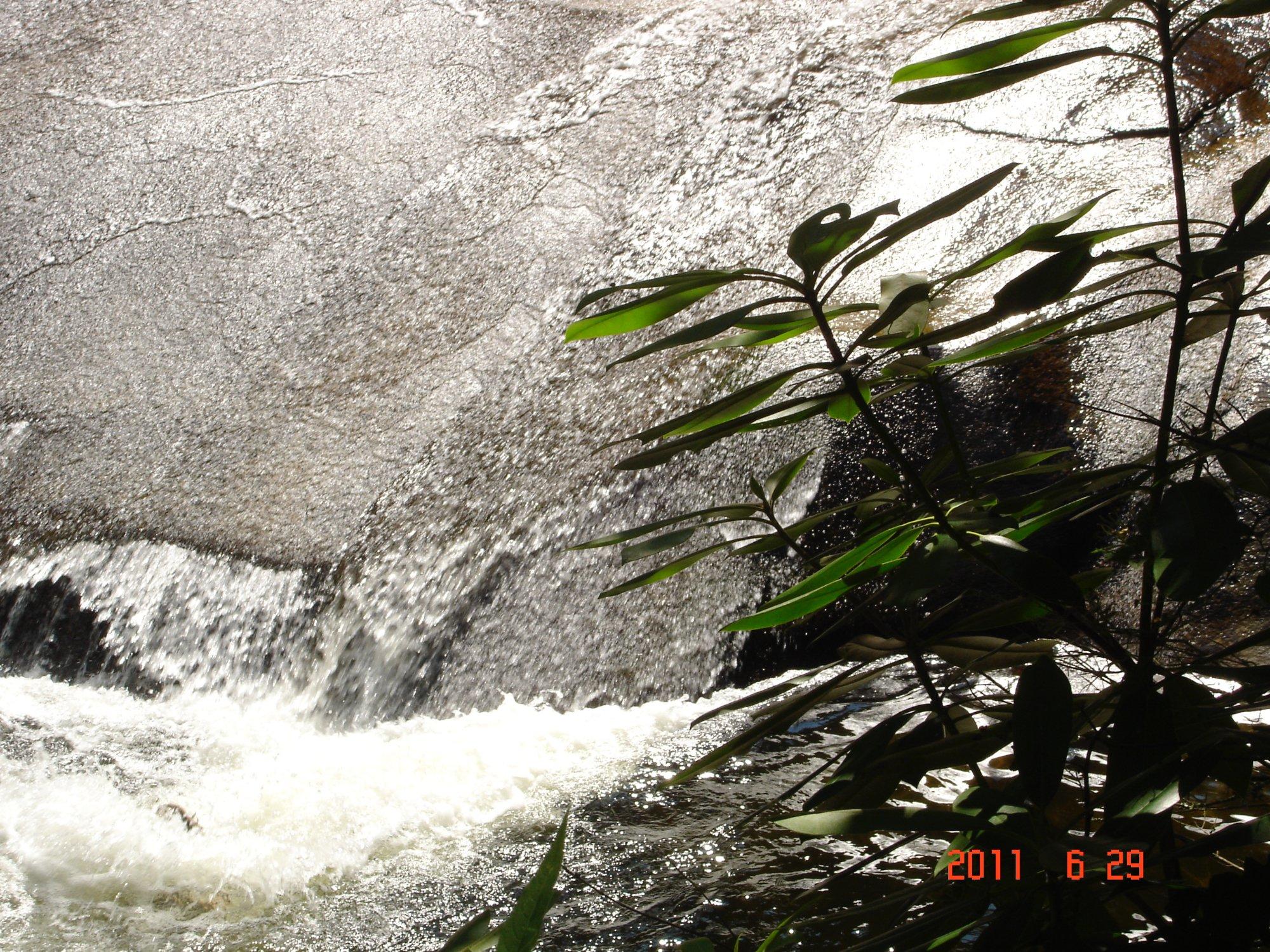 Sliding Rock, Pisgah Forest