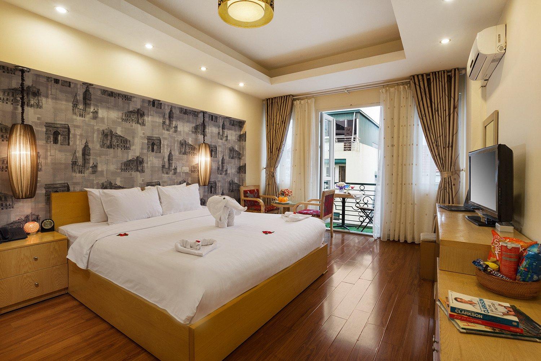 โรงแรมฮานอยอิมเพรสซีฟ