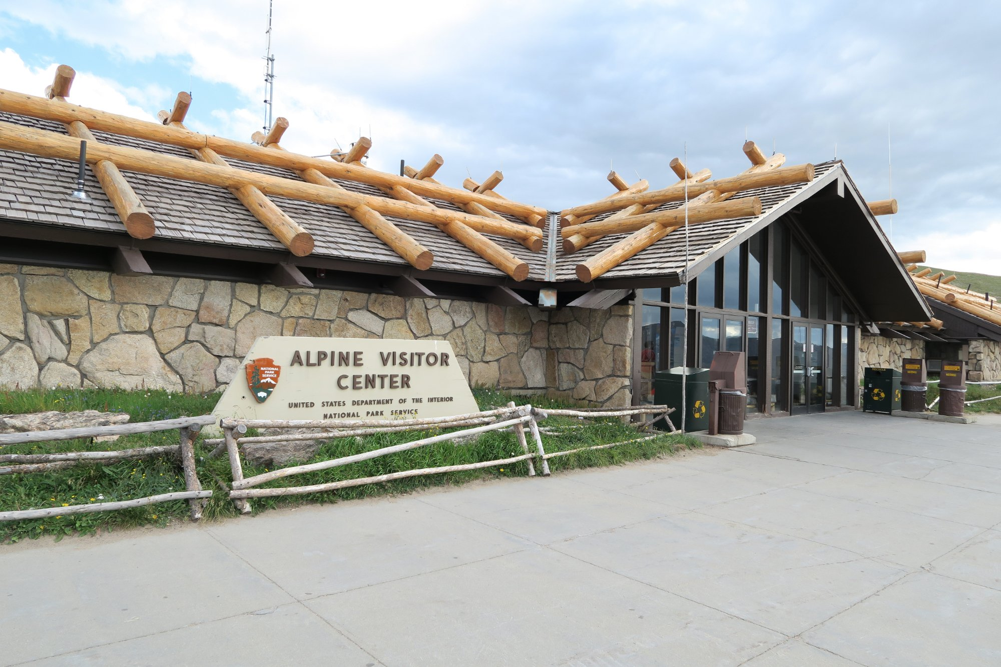 Alpine Visitor Center - Highest in NPS
