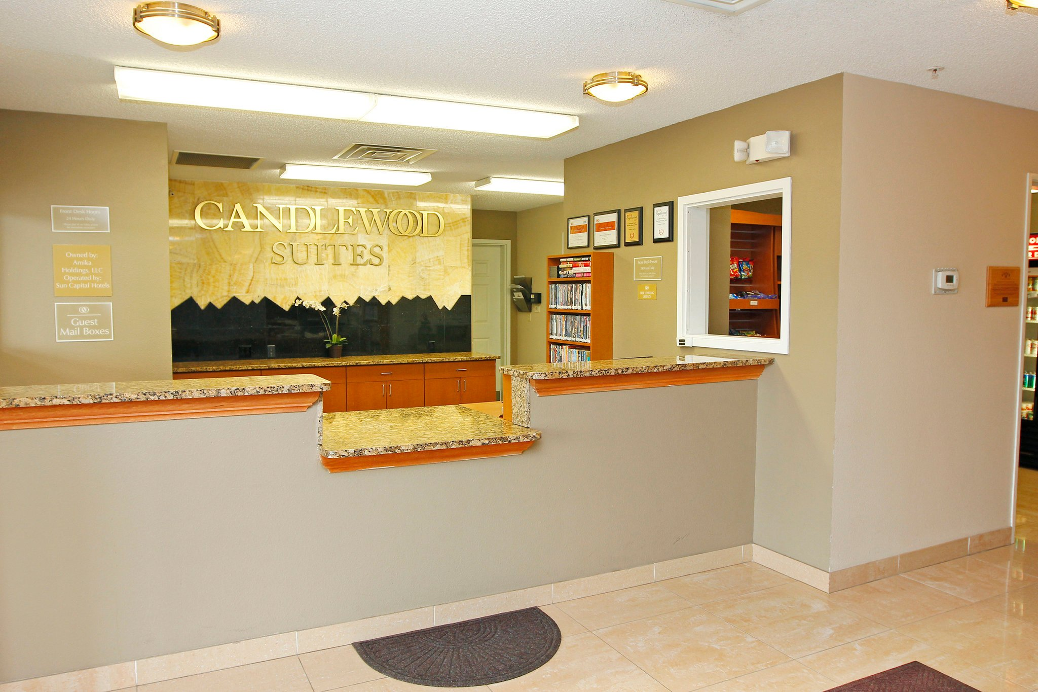 Candlewood Suites Meridian Business Center