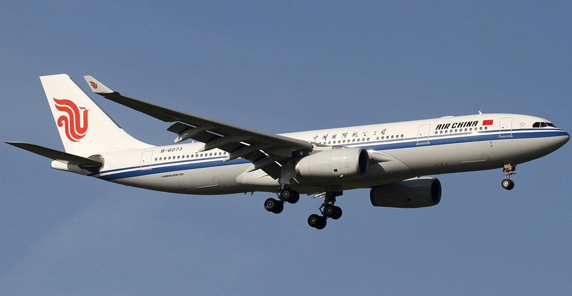 plane photo CA