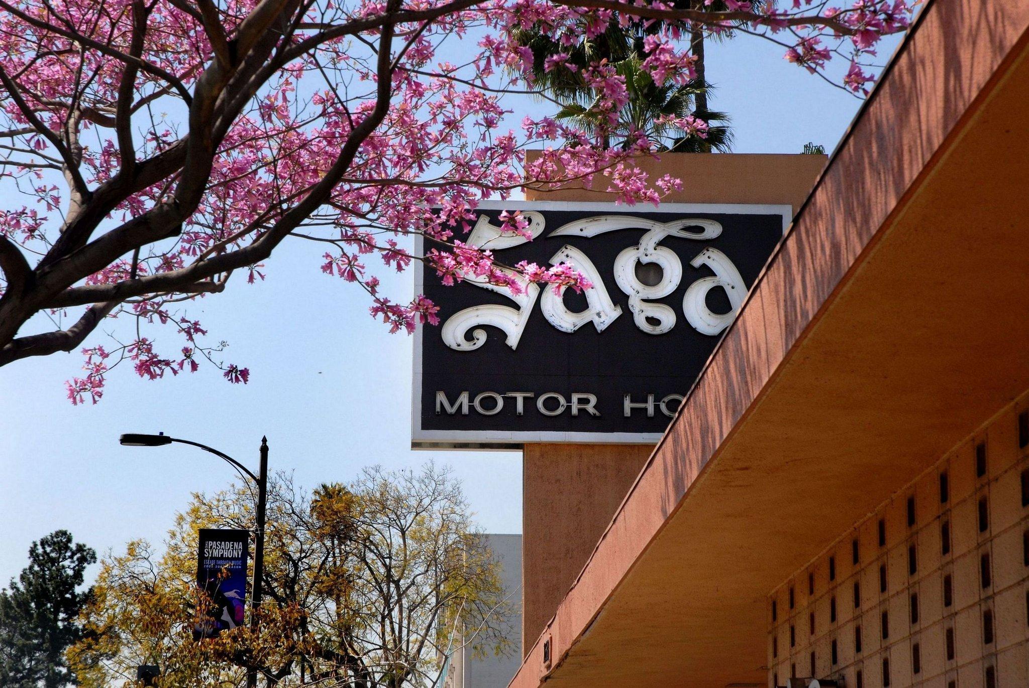 Saga Motor Hotel Pasadena Californie Voir Les Tarifs