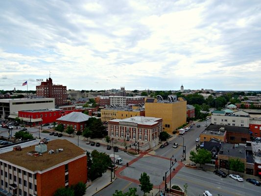 Overlooking 'The District' - downtown Columbia