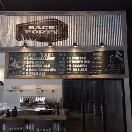 Back Forty Brewery