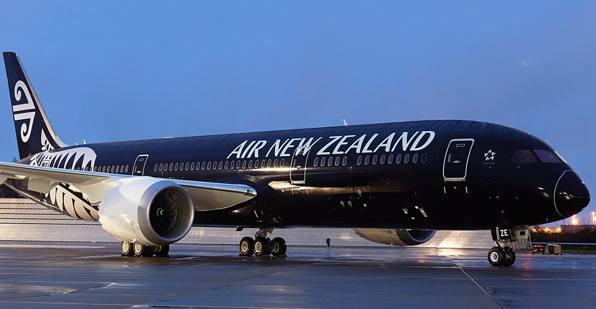 plane photo NZ
