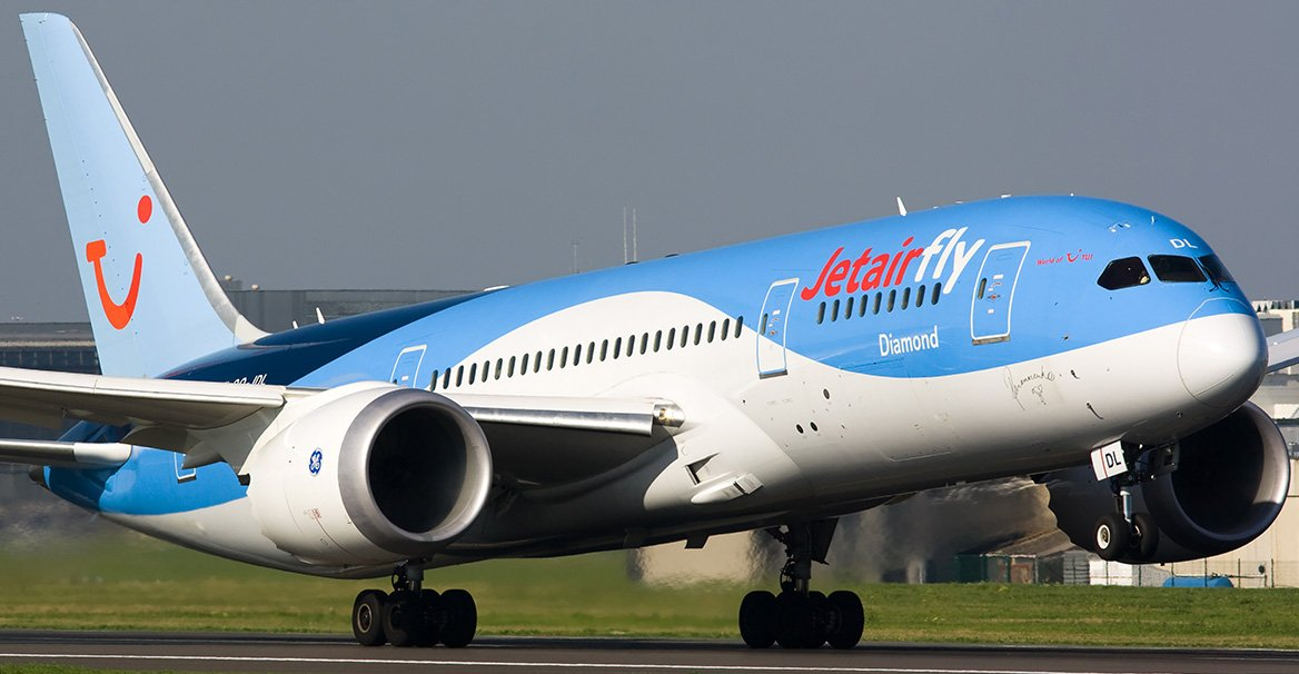 Tui fly belgium formerly jetairfly reviews and flights for Avion jetairfly interieur
