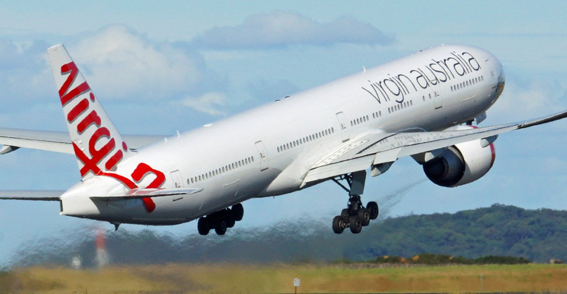 angeles los flights virgin australia
