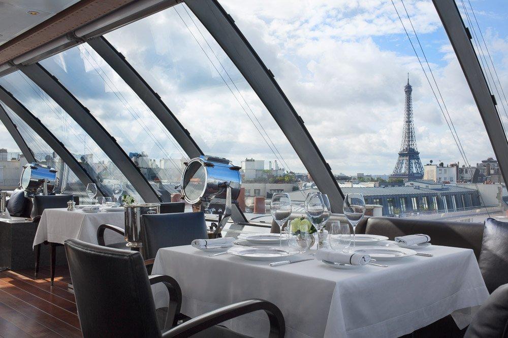 L Oiseau Blanc Restaurant
