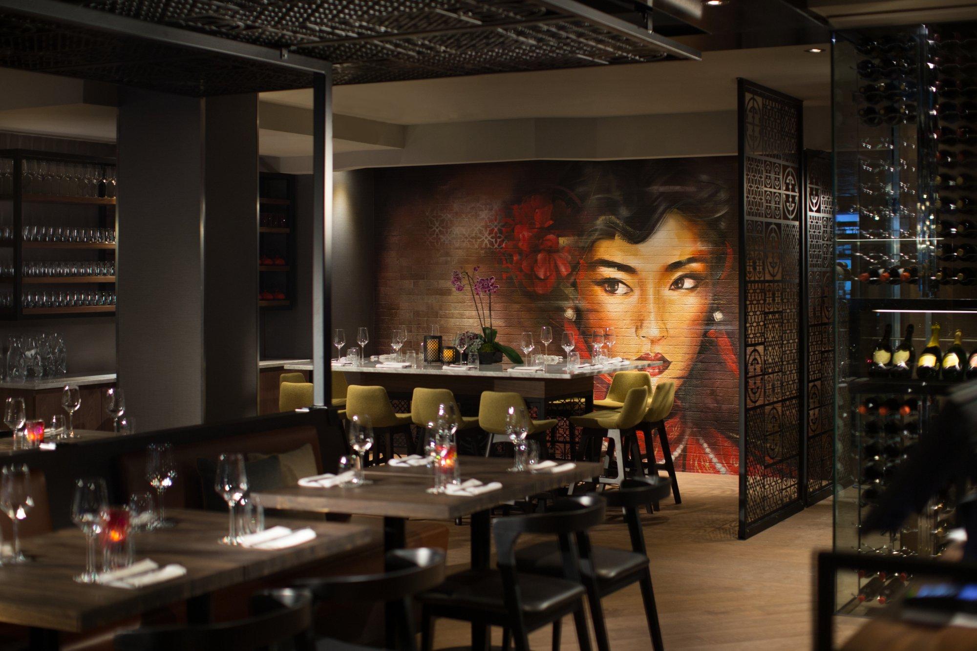 East pan asiatique cuisine et bar montreal centre ville for Cuisine asiatique