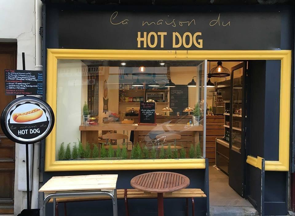 La maison du hot dog paris restaurant reviews phone for Devanture de maison