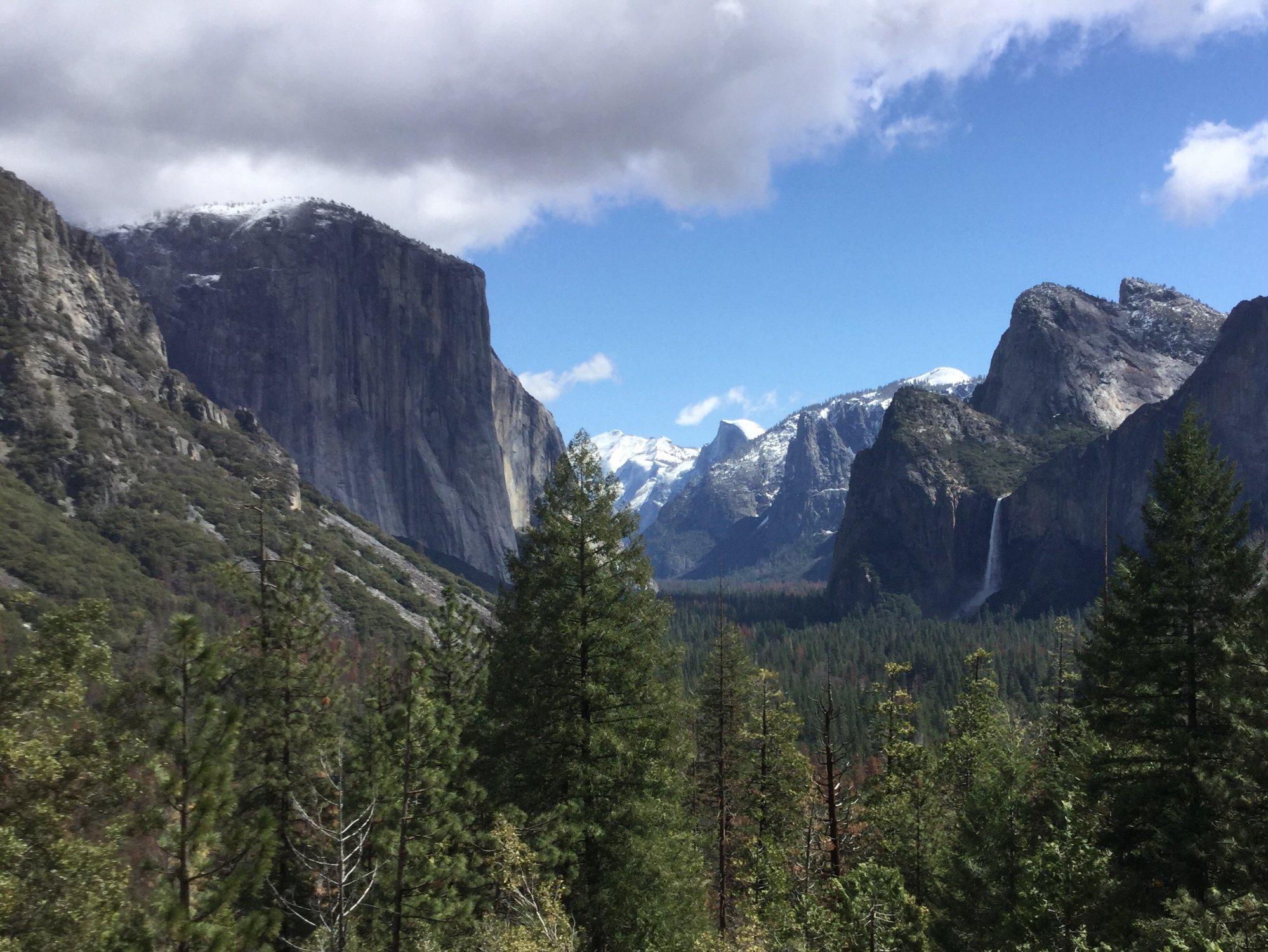 La valle dello Yosemite