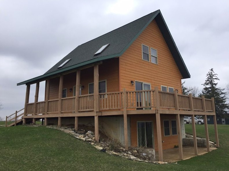 Decorah Highpoint- Pine Creek Cabins & Campground