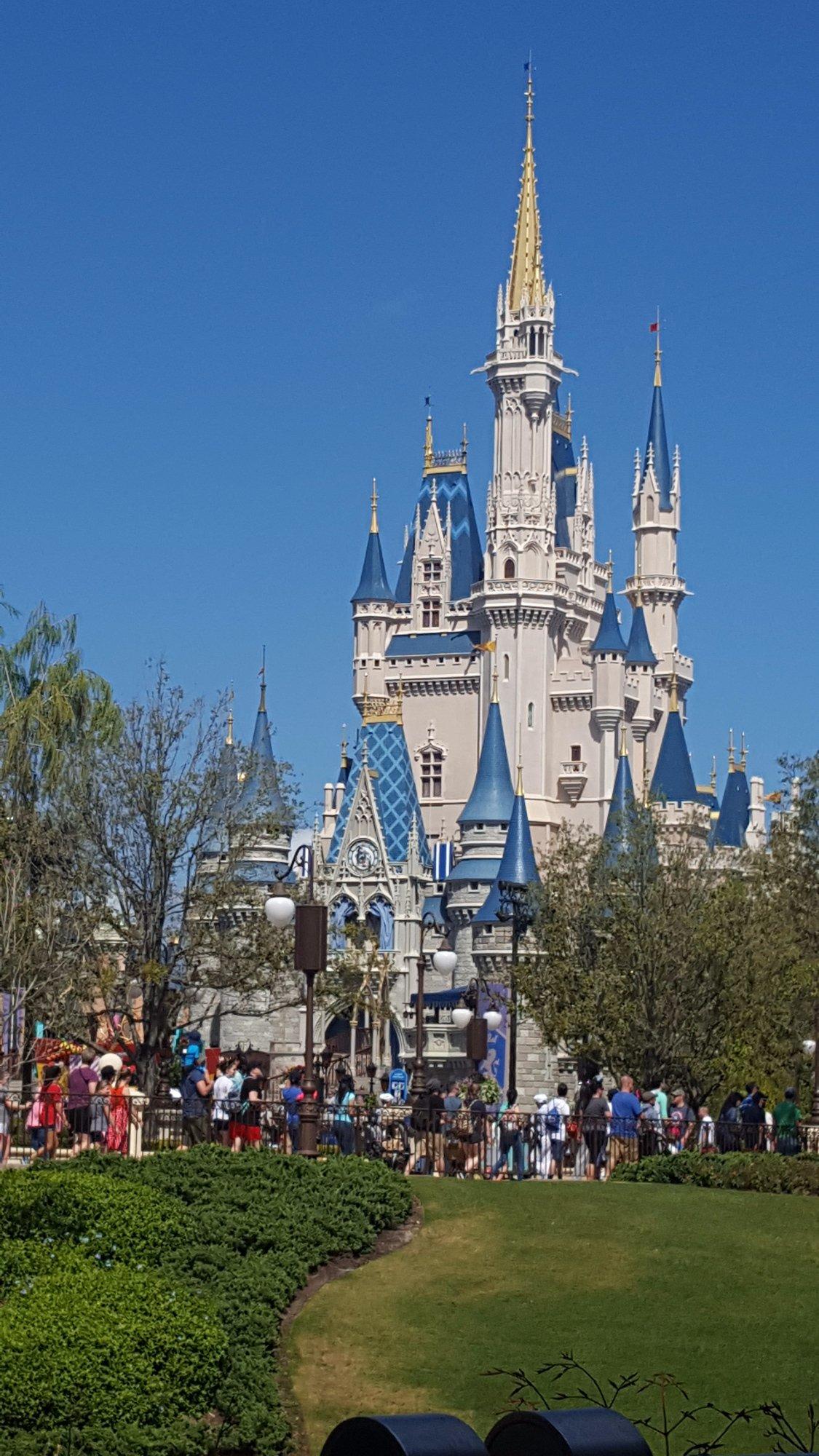 Cinderella straws Castle