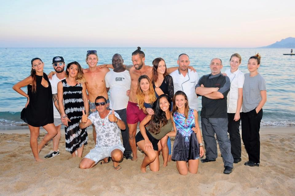 Riviera Beach Restaurant Plage Privee Cannes