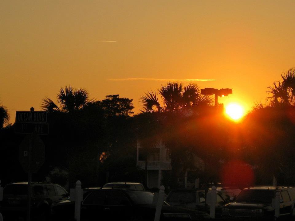 Sunset in Myrtle Beach