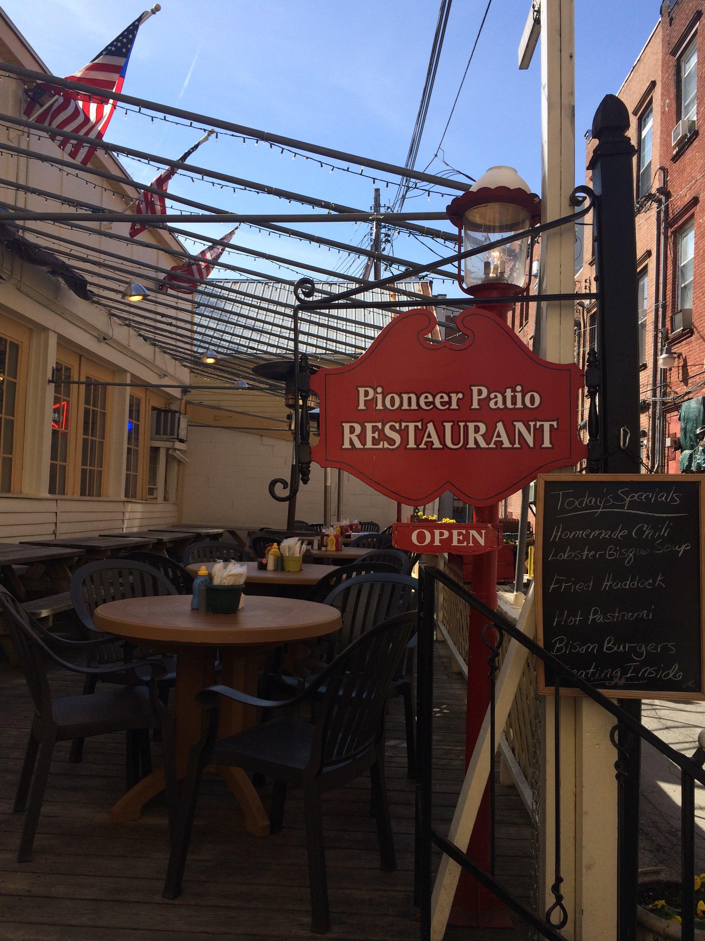 The Pioneer Patio Restaurant Cooperstown Restaurant Reviews