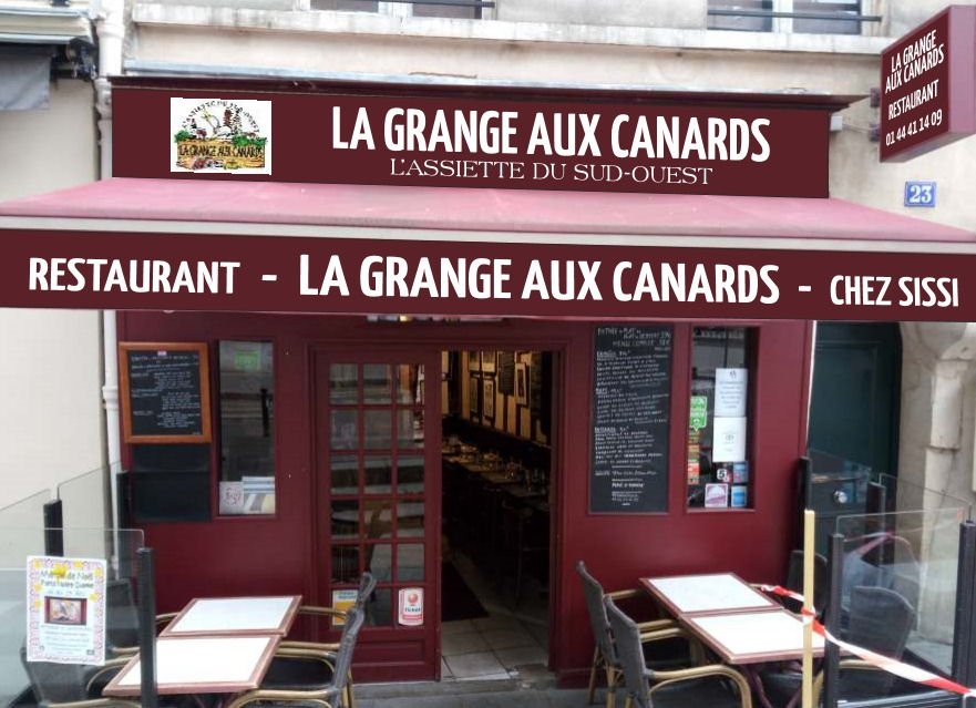 La Grange Aux Canards, Paris - Odeon / Saint-Michel - Restaurant ...