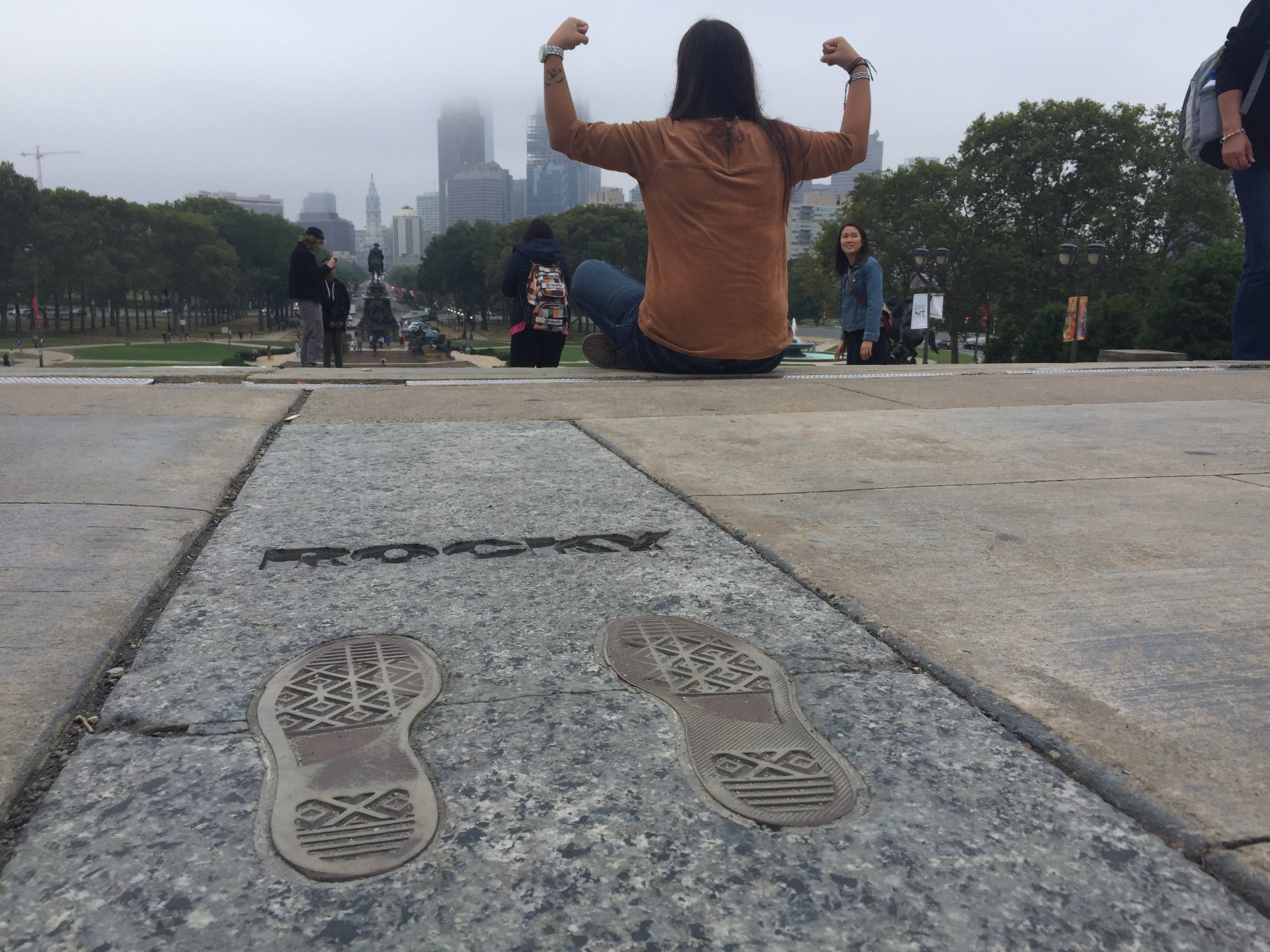 Rocky Steps in Philadelphia