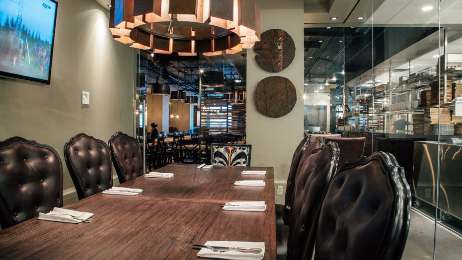 Calgary restaurants opentable autos post for O bar private dining room