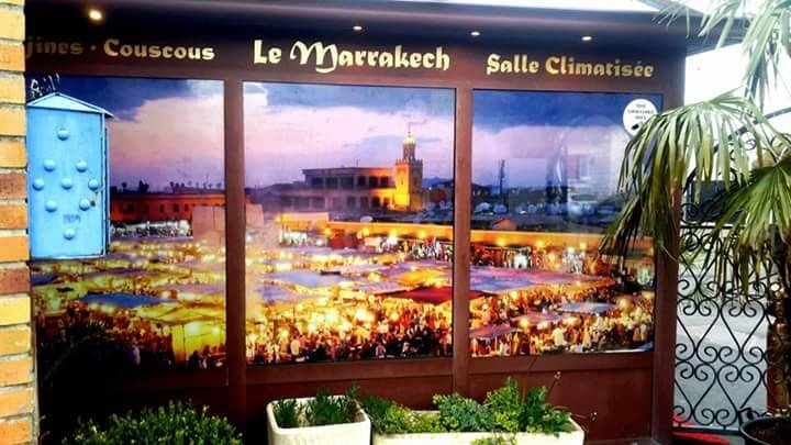 Le marrakech saint brice sous foret restaurant reviews for Facade exterieur