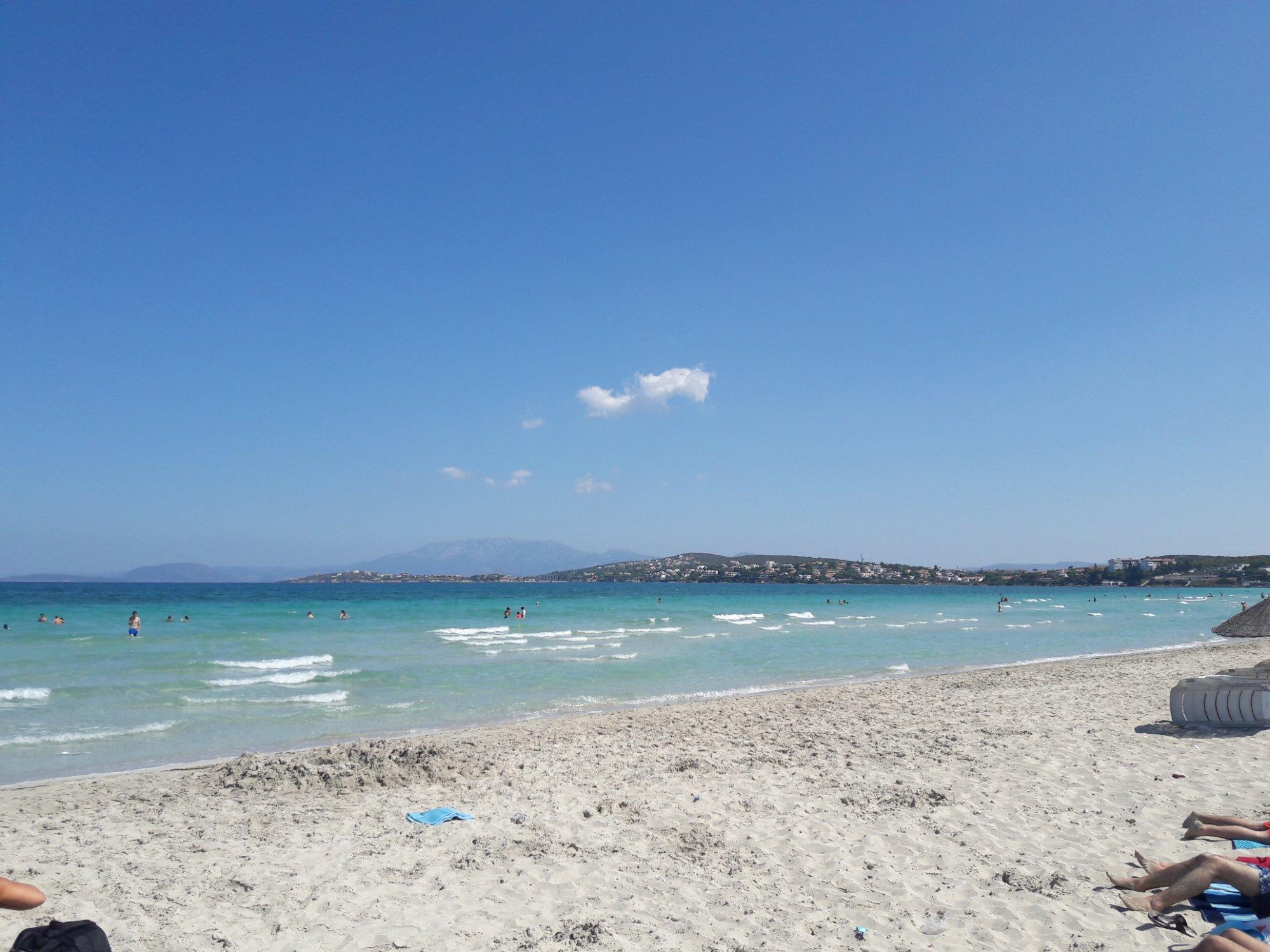 Playa de Ilica, Çeşme, Turquia