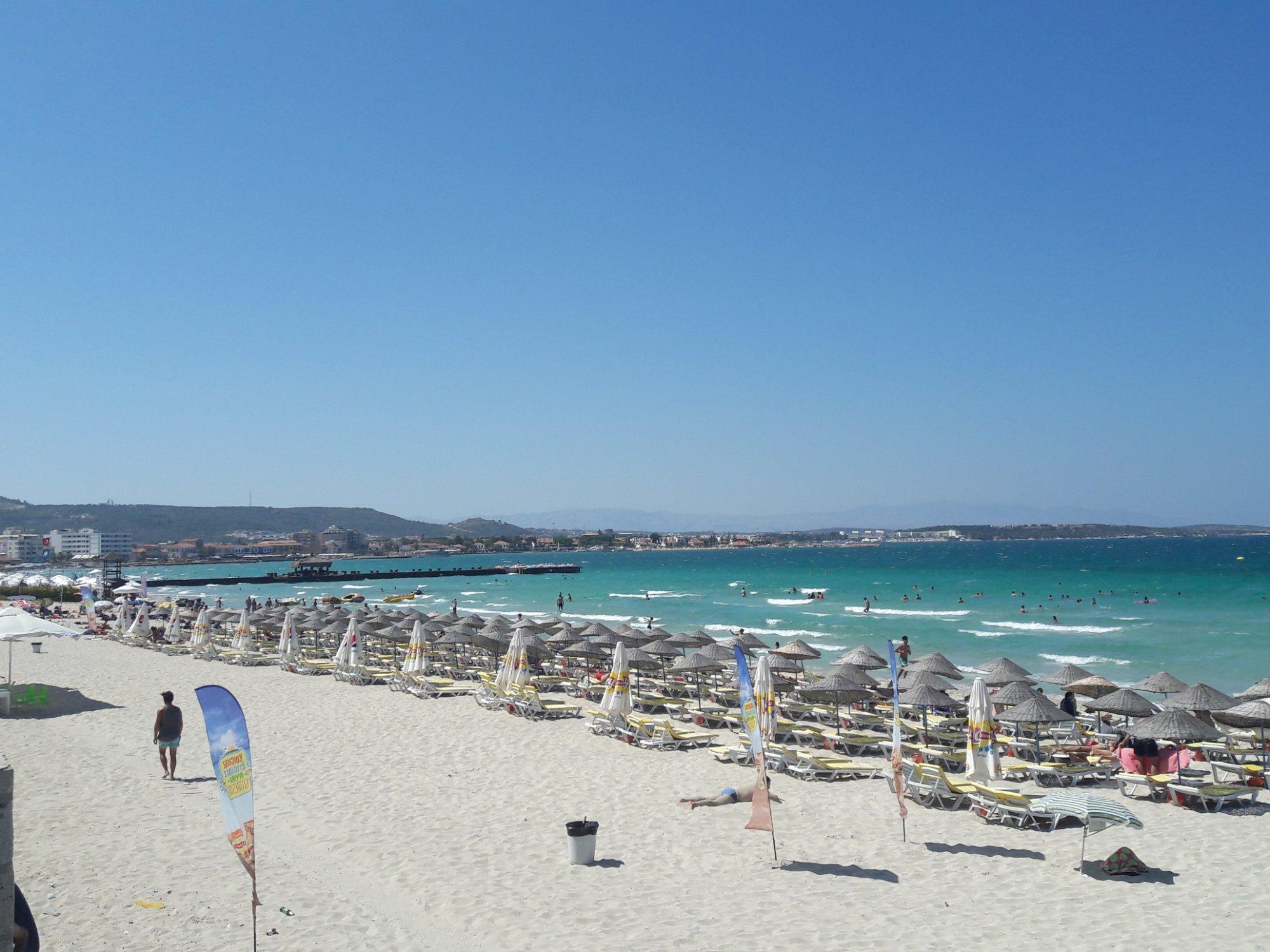 Playa de Ilica, Çeşme, Turquía