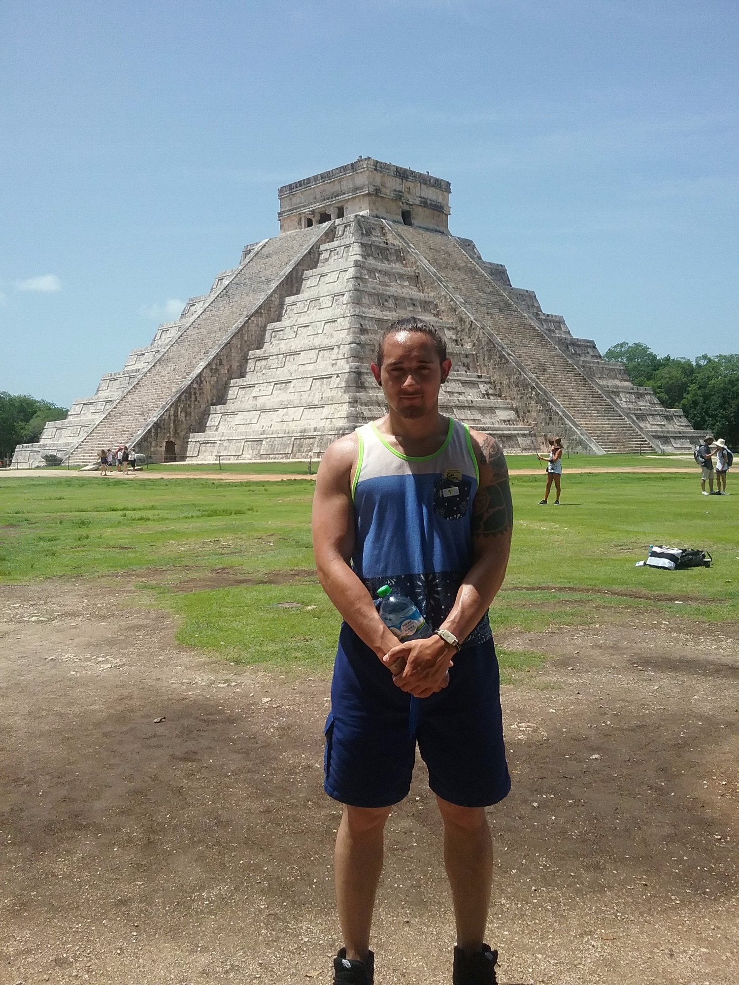 The Mayan Temple at Chechenitza