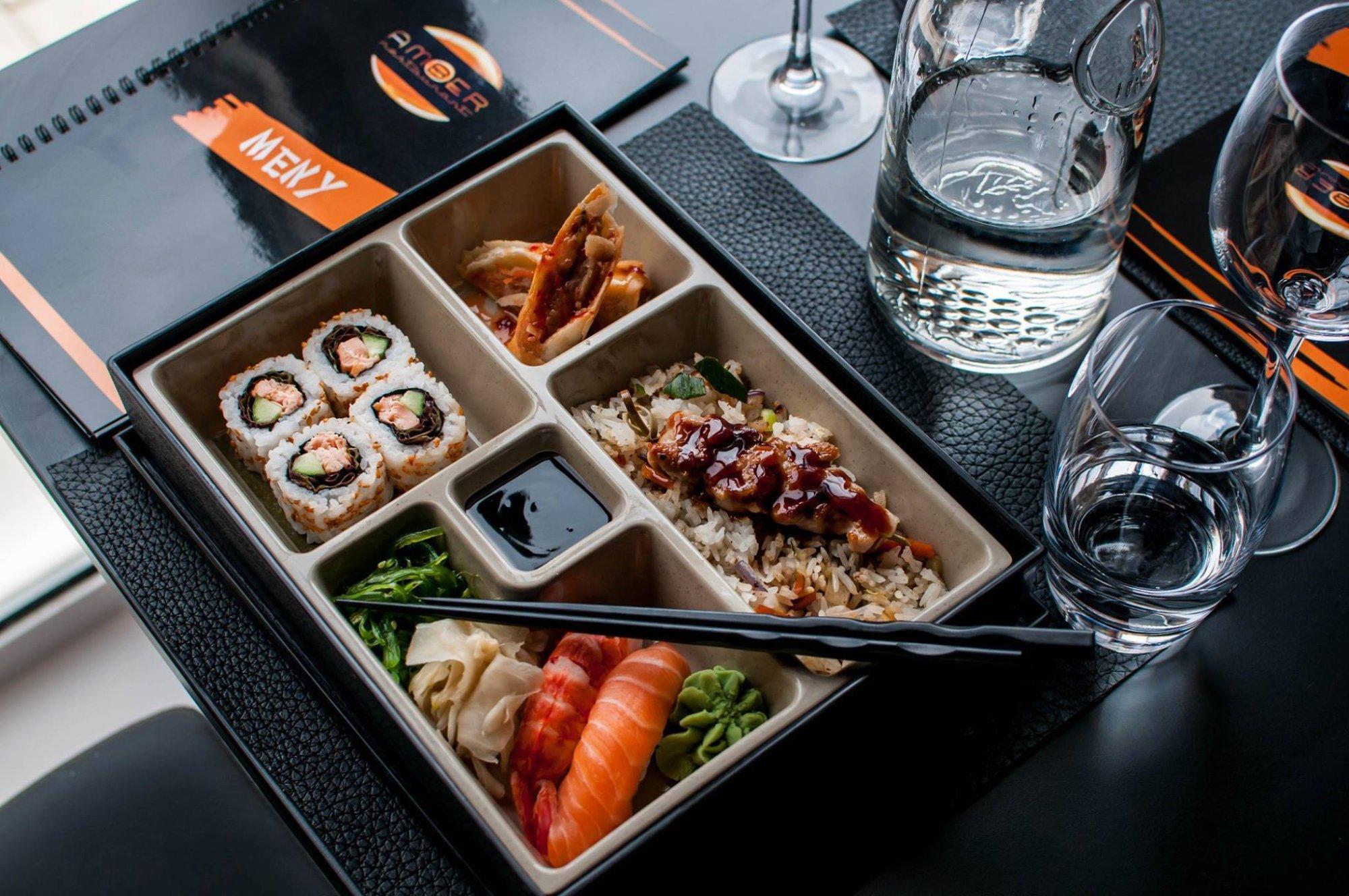 Amber asian food restaurant trondheim for Amber asian cuisine