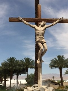 Statue of Crucified Christ