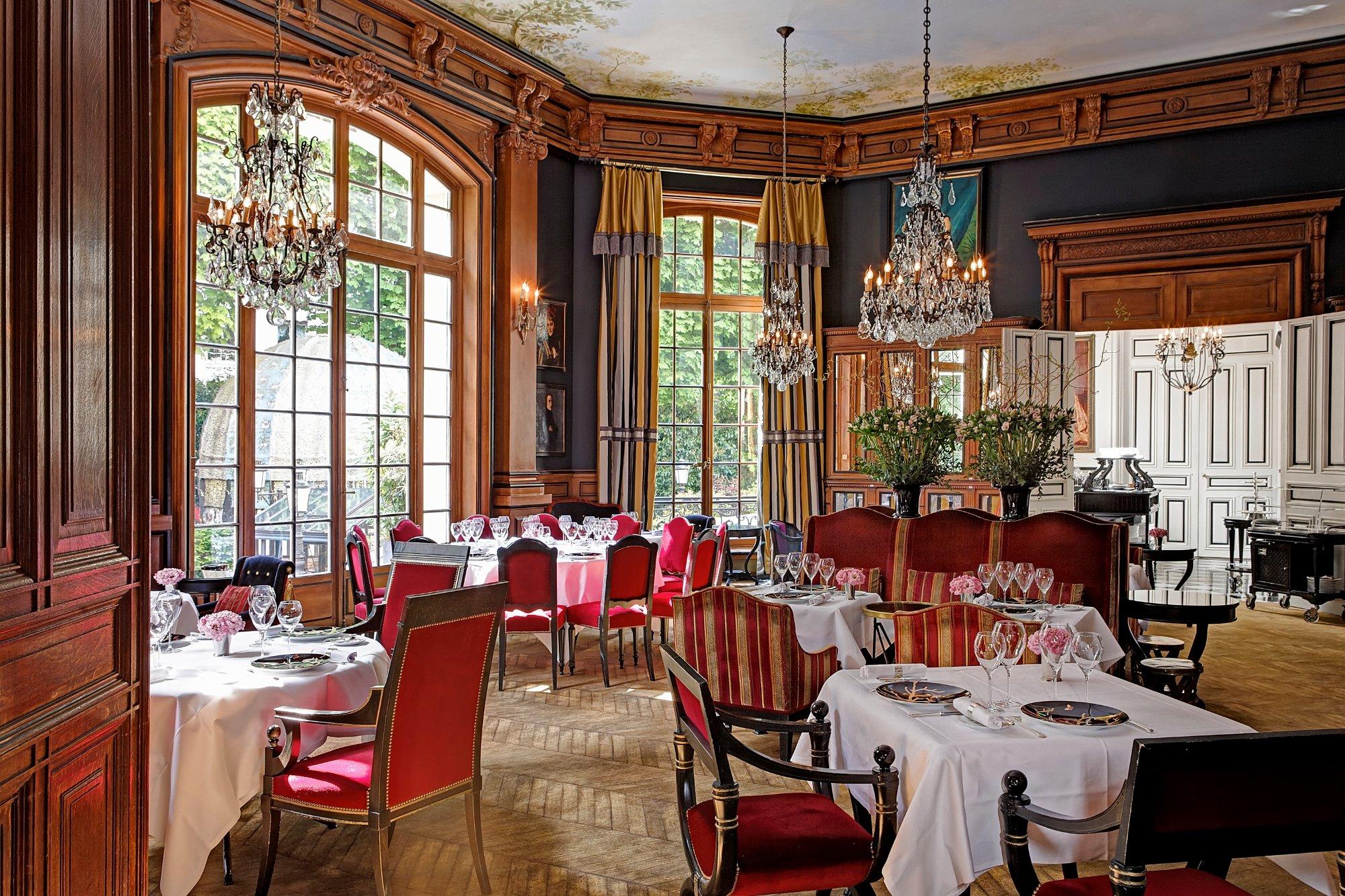 Saint james paris le restaurant 309 for O significado de dining room